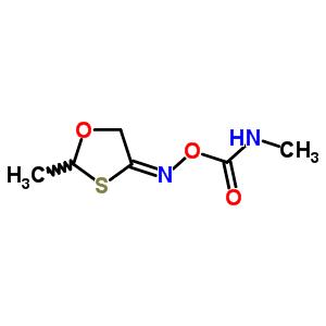 54266-57-8 N-methyl-1-({[(4E)-2-methyl-1,3-oxathiolan-4-ylidene]amino}oxy)-1-oxomethanamine