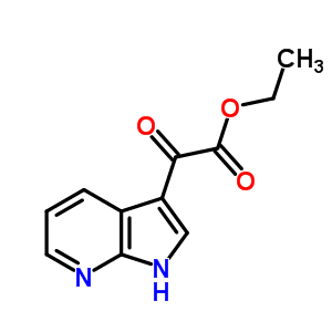 626604-80-6 ethyl oxo(1H-pyrrolo[2,3-b]pyridin-3-yl)acetate