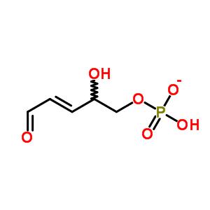 648916-75-0 (3E)-2-hydroxy-5-oxopent-3-en-1-yl hydrogen phosphate