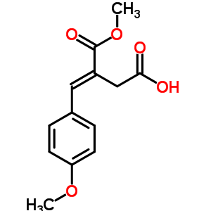 42151-35-9 (3E)-3-(methoxycarbonyl)-4-(4-methoxyphenyl)but-3-enoic acid