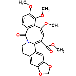 70866-52-3 methyl 1,2,16-trimethoxy-5-oxo-7,8-dihydro-5H-[1,3]dioxolo[6,7]isoquino[2,1-b][2]benzazocine-14-carboxylate