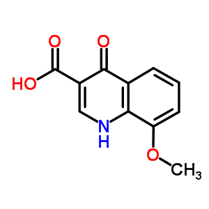 28027-18-1;280027-18-1;35975-69-0 8-methoxy-4-oxo-1,4-dihydroquinoline-3-carboxylic acid
