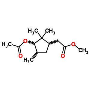91976-36-2 methyl [3-(acetyloxy)-2,2,4-trimethylcyclopentyl]acetate