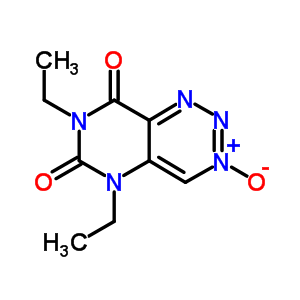 93226-25-6 5,7-diethylpyrimido[5,4-d][1,2,3]triazine-6,8(5H,7H)-dione 3-oxide