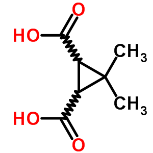 936-87-8 3,3-dimethylcyclopropane-1,2-dicarboxylic acid