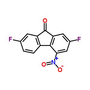 1785-28-0 2,7-difluoro-4-nitro-9H-fluoren-9-one