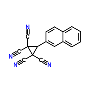 23767-66-0 3-(naphthalen-2-yl)cyclopropane-1,1,2,2-tetracarbonitrile