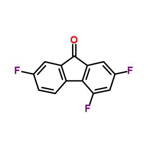 2969-67-7 2,4,7-trifluoro-9H-fluoren-9-one