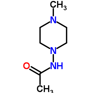 34924-88-4 N-(4-methylpiperazin-1-yl)acetamide