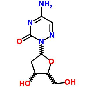50-92-0 5-amino-2-(2-deoxypentofuranosyl)-1,2,4-triazin-3(2H)-one