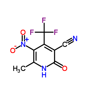 651-77-4 6-methyl-5-nitro-2-oxo-4-(trifluoromethyl)-1,2-dihydropyridine-3-carbonitrile