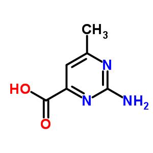 6630-66-6 2-amino-6-methylpyrimidine-4-carboxylic acid