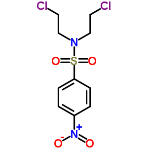 90876-33-8 N,N-bis(2-chloroethyl)-4-nitrobenzenesulfonamide