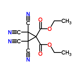 91823-57-3 diethyl 2,2,3,3-tetracyanocyclopropane-1,1-dicarboxylate