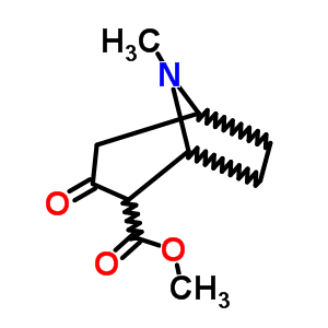 36127-17-0 methyl 8-methyl-3-oxo-8-azabicyclo[3.2.1]octane-2-carboxylate