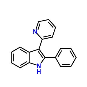 91025-04-6 2-phenyl-3-(pyridin-2-yl)-1H-indole