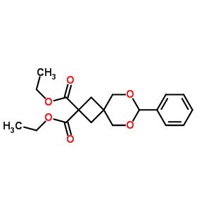 142733-60-6 diethyl 7-phenyl-6,8-dioxaspiro[3.5]nonane-2,2-dicarboxylate