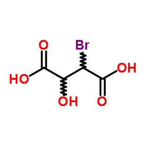 Molecular Structure, 19071-26-2 2-bromo-3-hydroxybutanedioic acid