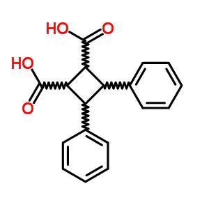 4482-52-4;528-34-7 3,4-diphenylcyclobutane-1,2-dicarboxylic acid