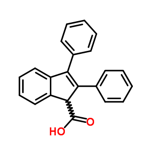 52986-48-8 2,3-diphenyl-1H-indene-1-carboxylic acid
