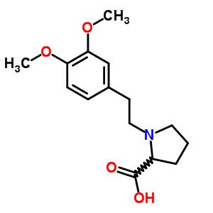 56014-48-3 1-[2-(3,4-dimethoxyphenyl)ethyl]proline