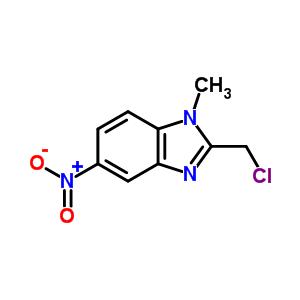 20443-39-4 2-(chloromethyl)-1-methyl-5-nitro-1H-benzimidazole