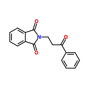 3617-18-3 2-(3-oxo-3-phenylpropyl)-1H-isoindole-1,3(2H)-dione
