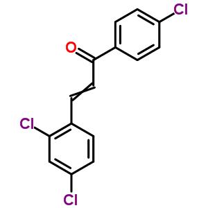 57076-84-3 1-(4-chlorophenyl)-3-(2,4-dichlorophenyl)prop-2-en-1-one