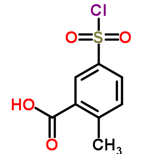 89001-57-0 5-(chlorosulfonyl)-2-methylbenzoic acid