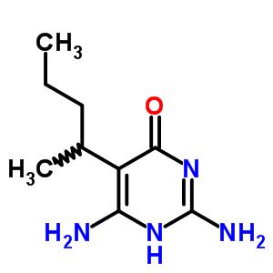 3344-03-4 2,6-diamino-5-(pentan-2-yl)pyrimidin-4(1H)-one