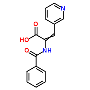 33560-99-5 2-(benzoylamino)-3-(pyridin-3-yl)prop-2-enoic acid