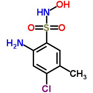 5016-11-5 2-amino-4-chloro-N-hydroxy-5-methylbenzenesulfonamide