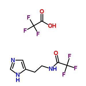 50309-97-2 2,2,2-trifluoro-N-[2-(1H-imidazol-5-yl)ethyl]acetamide trifluoroacetate (1:1)