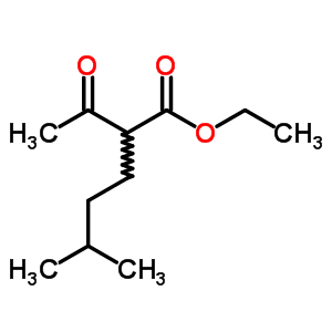 1522-30-1;84389-67-3 ethyl 2-acetyl-5-methylhexanoate