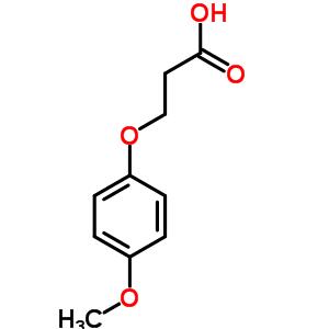 3-(4-甲氧基苯氧基)丙酸 20811-60-3