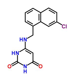 24346-10-9 6-{[(7-chloronaphthalen-1-yl)methyl]amino}pyrimidine-2,4(1H,3H)-dione