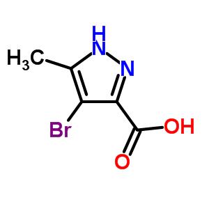 5-甲基-4-溴-1H-吡唑-3-羧酸 82231-52-5
