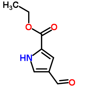 7126-57-0 Ethyl 4-formyl-1H-pyrrole-2-carboxylate