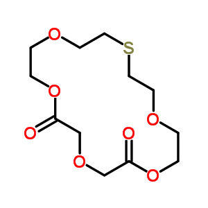 63689-59-8 1,4,7,10,13-pentaoxa-16-thiacyclooctadecane-5,9-dione