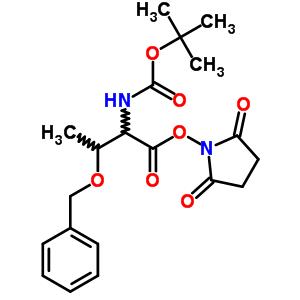Boc-Threonine(BZL)-OSU 32886-43-4