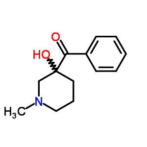 5899-21-8;92040-95-4 (3-hydroxy-1-methylpiperidin-3-yl)(phenyl)methanone