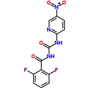 64862-21-1 2,6-difluoro-N-[(5-nitropyridin-2-yl)carbamoyl]benzamide