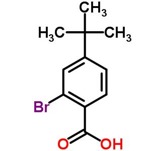 2-溴-4-叔丁基苯甲酸 6332-96-3