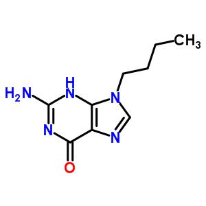 93905-75-0 2-amino-9-butyl-3,9-dihydro-6H-purin-6-one