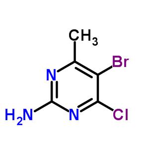 6314-12-1 5-bromo-4-chloro-6-methylpyrimidin-2-amine