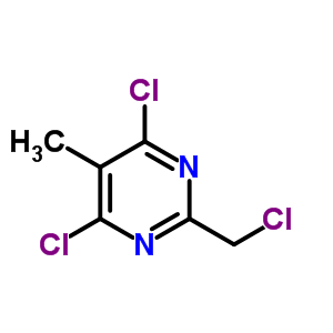 3764-00-9 4,6-dichloro-2-(chloromethyl)-5-methylpyrimidine
