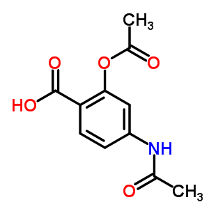 51-00-3 4-(acetylamino)-2-(acetyloxy)benzoic acid
