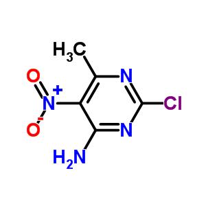 5453-06-5 2-Chloro-6-methyl-5-nitropyrimidin-4-amine