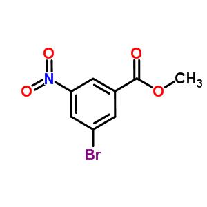3-溴-5-硝基苯甲酸甲酯 6307-87-5