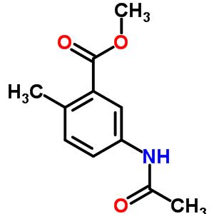 5-乙酰氨基-2-甲基苯甲酸甲酯 91133-72-1